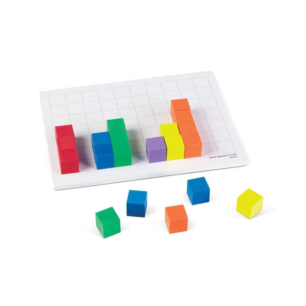 ETA hand2mind 337B hand2mind 1-Inch Foam Color Cubes Set of 102
