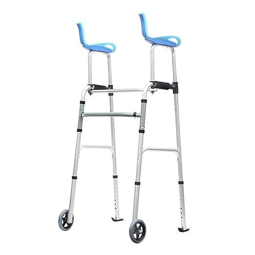 BZEI-WALKERS Andador con Ruedas Caminador Plegable para ...