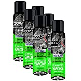 Turtle Wax Odor-X Car Spray or Fogger, Eliminates Smoke & Malodors, Fresh Blast (6)