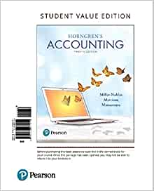 Amazon horngrens accounting student value edition plus mylab amazon horngrens accounting student value edition plus mylab accounting with pearson etext access card package 12th edition 9780134642932 fandeluxe Gallery