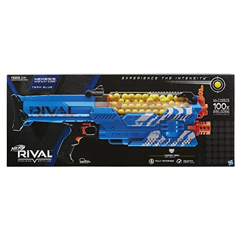 Nerf Rival Nemesis MXVII-10K, Blue (Amazon Exclusive)