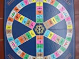 Trivial Pursuit Game Board ; For use with Master Game, Subsidiary Card Sets, Boomer, Disney, 1980s, Sports, Silver Screen, Genus II, III, IV, V