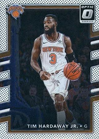 2d72b8906ed 2017-18 Donruss Optic #97 Tim Hardaway Jr. New York Knicks Basketball Card