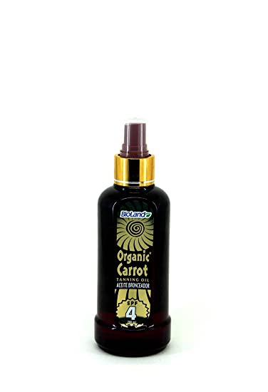 Carrot Suntan Oil for Skin Spf4 200ml./ Aceite Bronceador Carrot SPF 4 200ml
