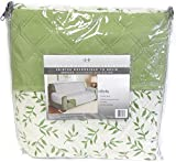 DINY Home & Style Sofa Furniture Protector Reversible Quilted Two Fresh Looks in One Water Resistant Sage Green