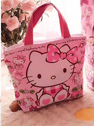 CJB Sanrio Hello Kitty Lovely Multipurpose Lunch Bag Pink Strawberry (US (Sanrio Hello Kitty Halloween)