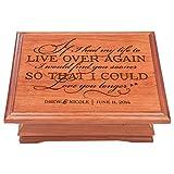 Personalized wedding Anniversary Gift for Couple Jewelry organizer box Her him, storage organizer