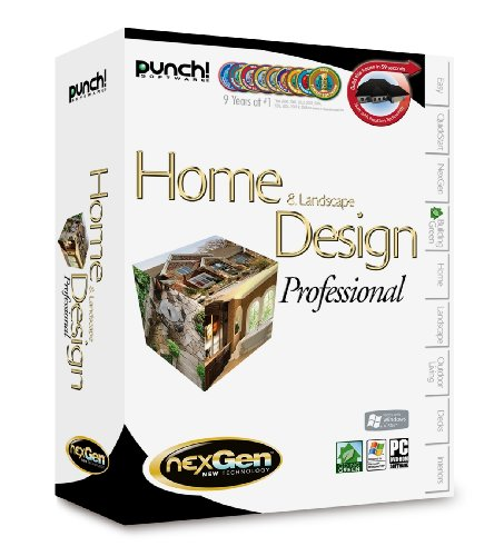 Punch! Home Landscape Design Professional with NexGen