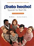 img - for Trato Hecho! Spanish for Real Life: Aie by J. T. & Garcia, Alonso Mcminn (2006-07-30) book / textbook / text book