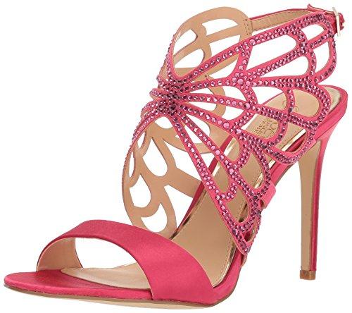 Badgley Mischka Jewel Women's Taresa Heeled Sandal Pink 6 Medium US