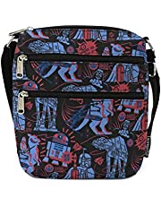 LOUNGEFLY X Star Wars Empire 40th Anniversary Nylon Passport Bag