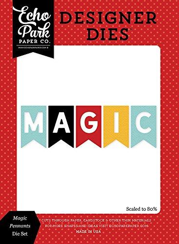 Echo Park Paper Company Mw124045 Magic Pennants Die Set