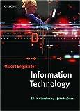 English for Information Technology, Eric H. Glendinning and John McEwan, 0194573753