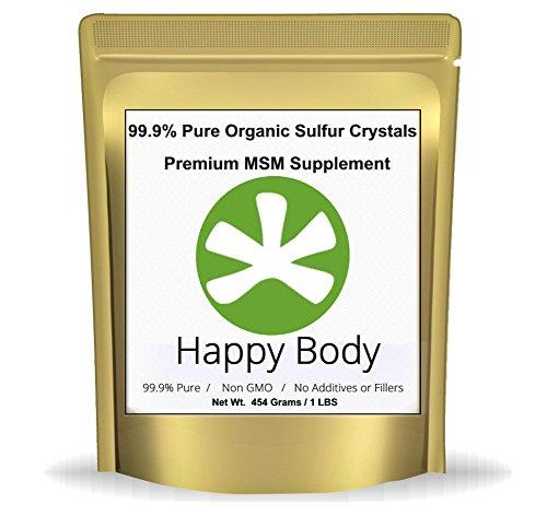 Supplément de MSM soufre organique cristaux - 99,9 % Pure MSM, prime. Cristaux naturels MSM - meilleure qualité et Absorption. (Pack 1 livre) ** très rapide expédition Avg 3-5 jours. **