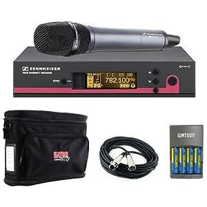 sennheiser ew 135 g3 wireless handheld microphone system with e 835 mic a plus