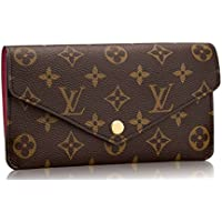 ae6e993362f3 Louis Vuitton Monogram Canvas Jeanne Wallet Article M62155 Made in France