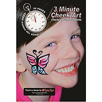 amazon co jp how to face paint book 3 minute cheek art ホーム