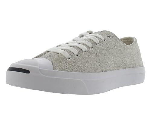 c89e95ec974 Converse Men's Blue Jack Purcell Jack Ox Suede Trainers: Amazon.co.uk: Shoes  & Bags