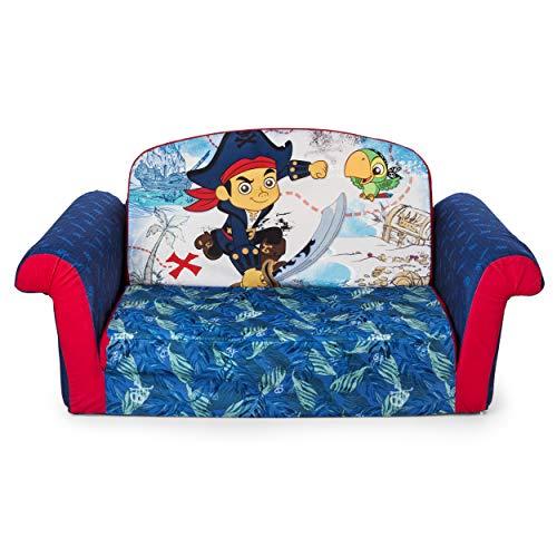 Marshmallow Fun Furniture Jake and The Neverland Pirates Flip Open Sofa