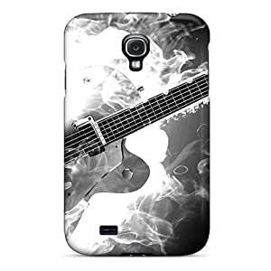 Defender Case For Galaxy S4, Smoking Guitar Pattern
