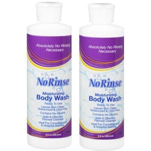 No Rinse Body Wash (2 Bottles), 8FL bottles