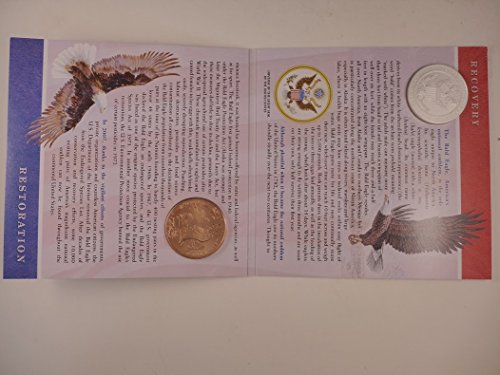 2008 P Commemorative Bald Eagle Uncirculated Silver Dollar and Bronze Medal Set Mint -