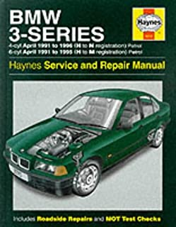 bmw 3 series e36 service manual 1992 1998 m3 318i 323i 325i rh amazon co uk BMW E36 3 Series BMW E36 328I Sedan
