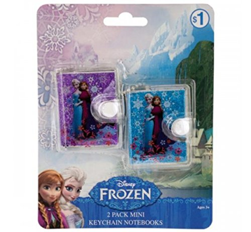 - SWM KL19567 Disney Frozen Mini Keychain Notebooks Set