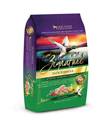 Zignature Duck Formula Dog Food, 27 lb.