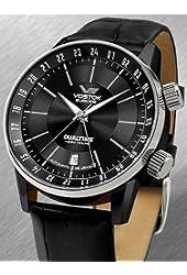 Vostok-Europe Men's Gaz-Limo Automatic Dual Time Watch 5602059