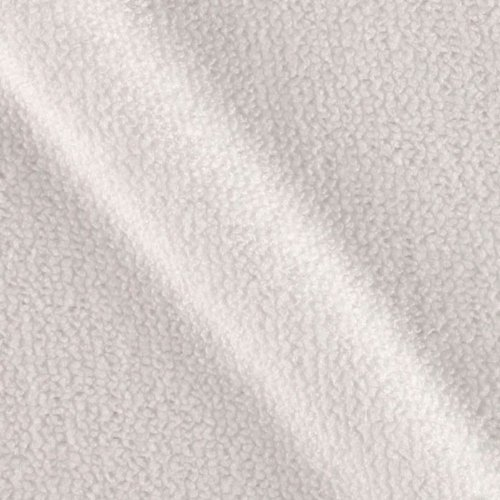 Microfiber Terry Soaker White Fabric By The Yard