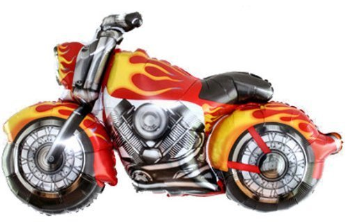 Snarly Motorcycle Balloon -