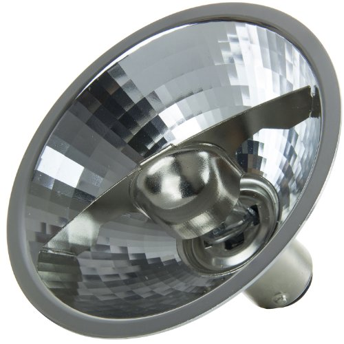 Sunlite 50AR70/SP/12V 50-Watt Halogen AR70 Aluminum Reflector Bulb, Aluminum by Sunlite (Image #1)