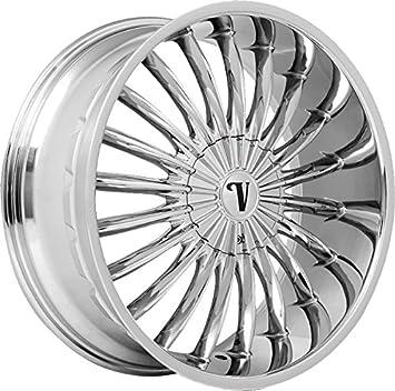 Amazon.com: Velocity VW11 - Llantas de cromo de 22.0 in ...