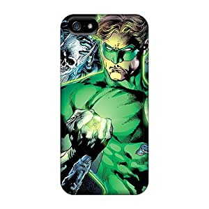 Perfect Cell-phone Hard Covers For Iphone 5/5s (kNg5125GfKD) Provide Private Custom Trendy Green Lantern Skin