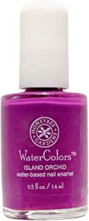 product image for Honeybee Gardens WaterColors Nail Enamel Island Orchid | Non Toxic | Water-based | Earth Friendly
