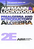 Text-Specific DVD for Aufmann/Lockwood's Prealgebra and Introductory Algebra: An Applied Approach, 2nd