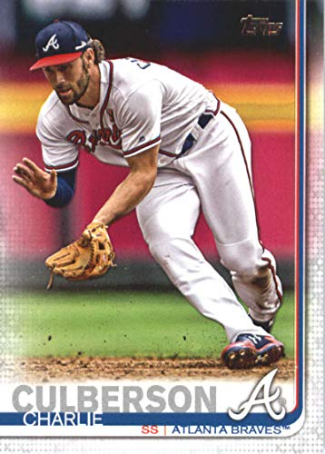 (2019 Topps Series Two Baseball #369 Charlie Culberson Atlanta Braves Offical MLB Trading Card)