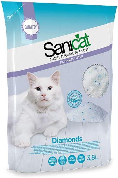 Sheba Sanicat Lettiera Silicio Diamond 3,8 Lt 200 ml