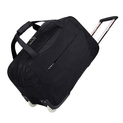 b8974924e7f9 Amazon.com: DCRYWRX Portable Travel Trolley Bag Waterproof Oxford ...