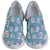 PattyCandy Kids & Toddlers Slip On Love Bird & Cage Lightweight Shoes-US 5.5Y