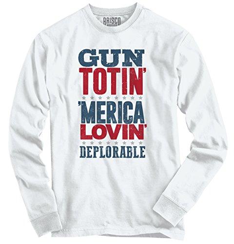 America Loving Deplorable Donald T Shirt product image