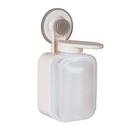 DULPLAY Dispensador manual del jabón,Plástico del abs, Sola bomba de ducha de montaje