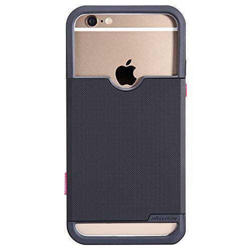 Nillkin Show Sarah Papworth Case Cover conque Umschlagseite Schutzhülle für Apple iPhone 6Plus 5.5, Schwarz