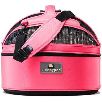 Amazon Com Sleepypod Medium Mobile Pet Bed Blossom Pink