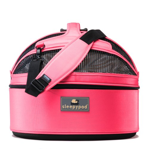Sleepypod Medium Mobile Pet Bed, Blossom Pink by Sleepypod