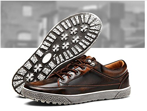 shoes shoes men's retro fashion 1 shoes new 2017 leather casual wHBqg8XO