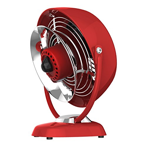 Vornado vfan jr vintage air circulator fan red home for Air circulation fans home