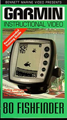 Garmin 80 Fishfinder Instructional Training Video [VHS]