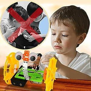 Festiday 1set DIY Two-Wheeled Balancing Robot Toy Kids Toy Sale, Intelligent DIY Balancing Car Science Toy Gift…
